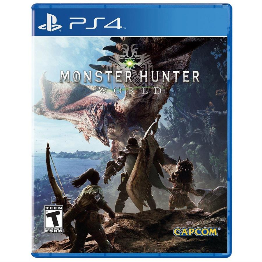 Monster Hunter World Ps4
