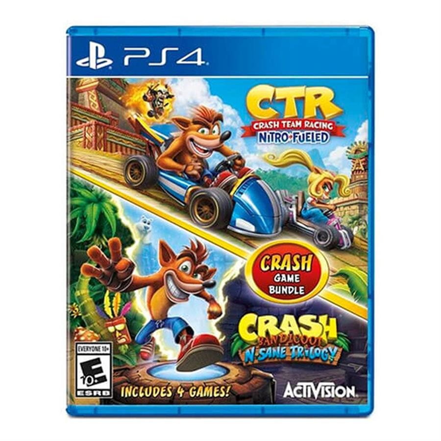 Crash Game Bundle Ctr + Bandicoot Ps4