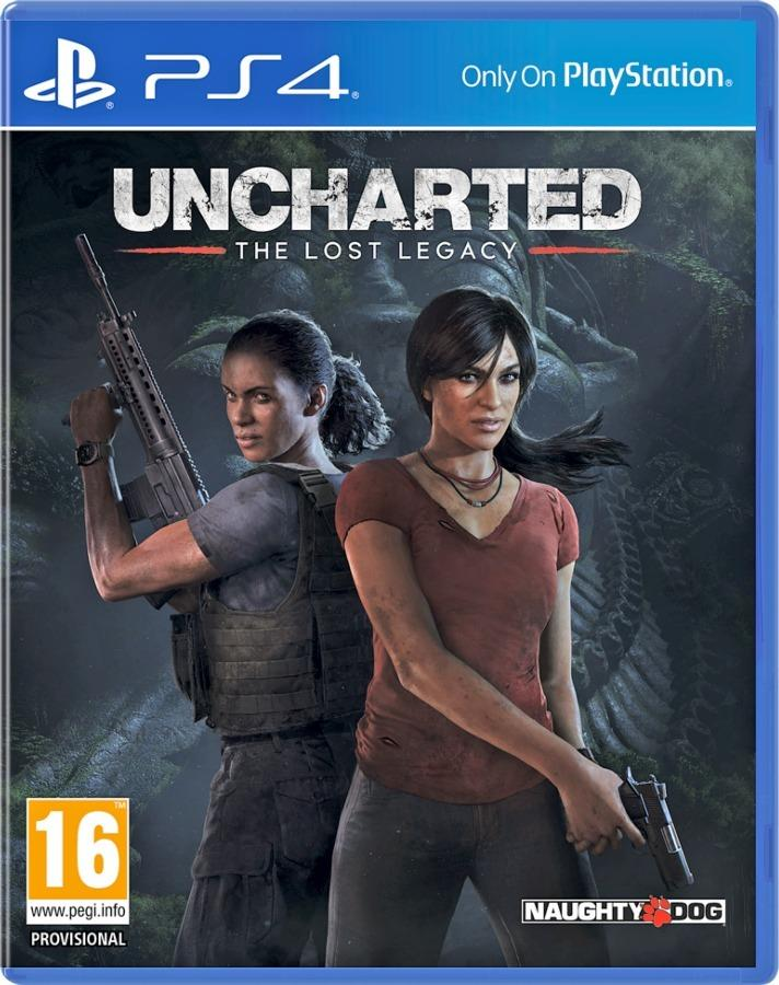 Uncharted Lost Legacy Ps4