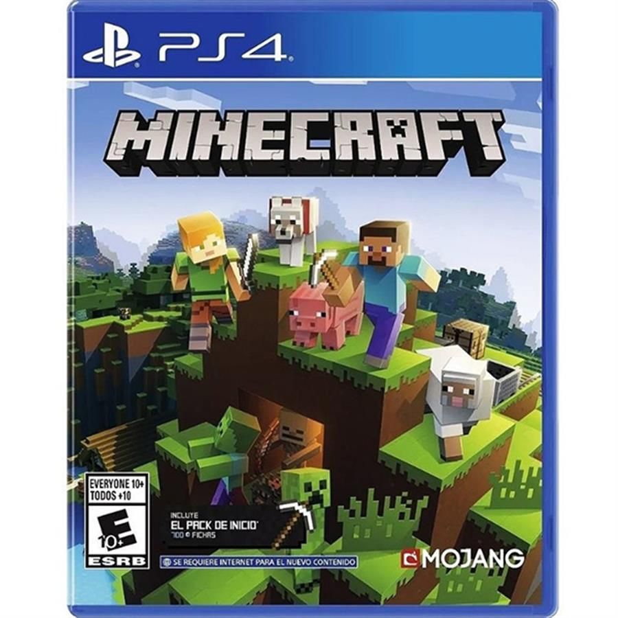Minecraft Ps4 Pack Inicial Ps4