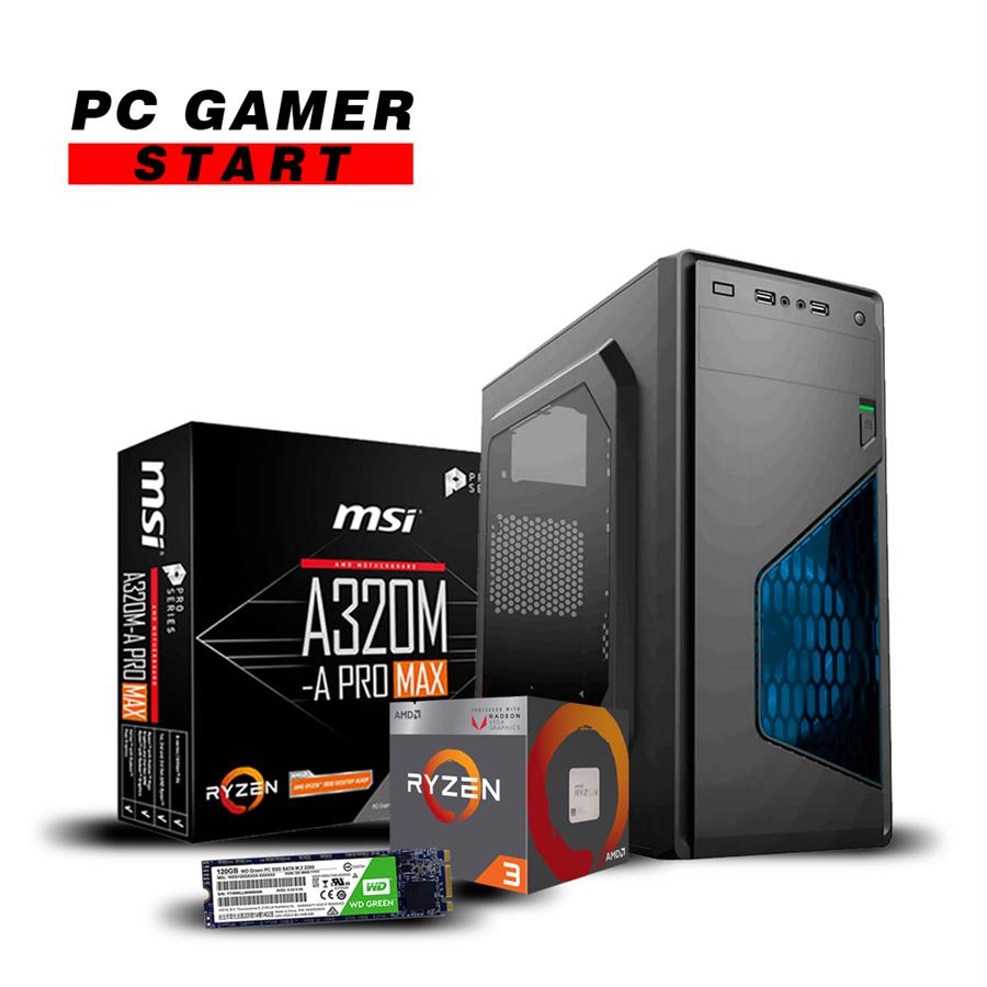 Pc Gamer Start (Ryzen 2200G)