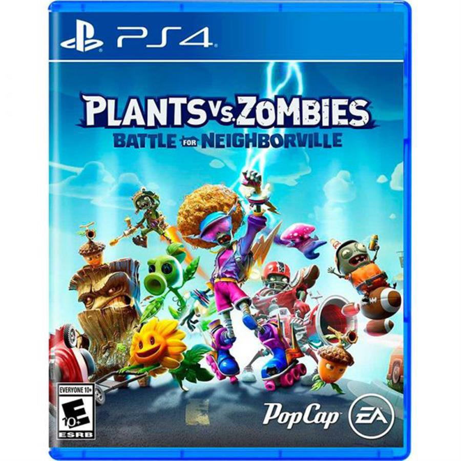 Plantas Vs Zombies Batalla Por Neigthborville Ps4